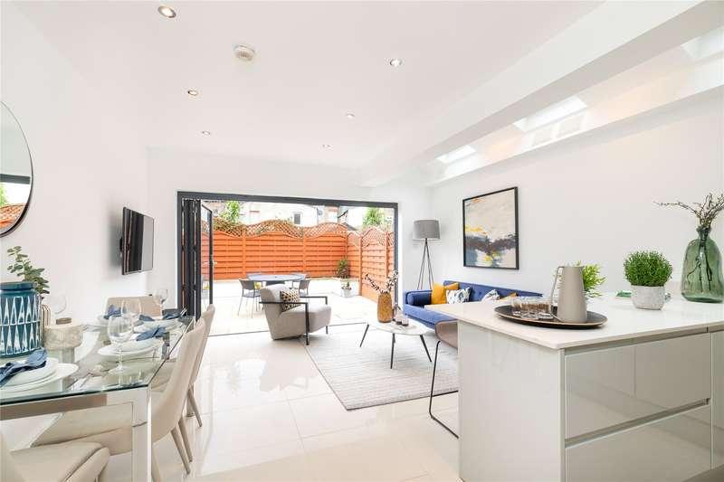 3 Bedrooms Terraced House for sale in Aslett Street, London, SW18