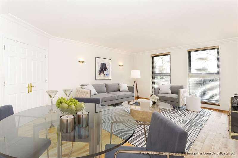 2 Bedrooms Flat for sale in Chelsea Gate Apartments, 93 Ebury Bridge Road, London, SW1W