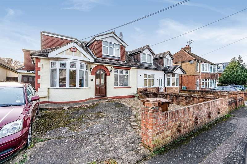 4 Bedrooms Semi Detached Bungalow for sale in Marshall Road, Rainham, Kent, ME8