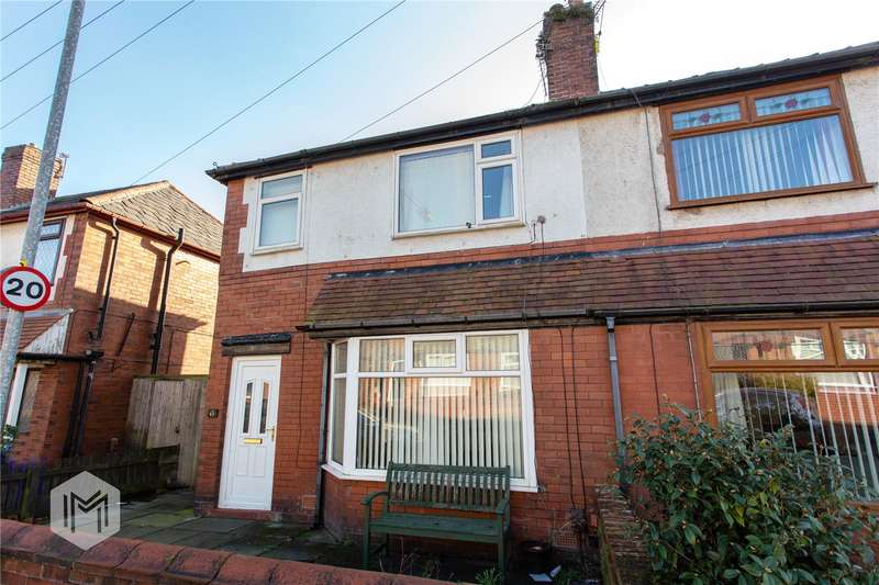 3 Bedrooms Semi Detached House for sale in Ainslie Road, Bolton, Greater Manchester, BL1