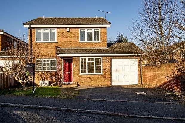 4 Bedrooms Detached House for sale in Kelsey Avenue, Finchampstead, Wokingham