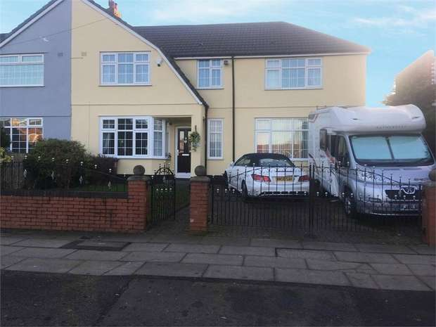 5 Bedrooms Semi Detached House for sale in Tarbock Road, Huyton, Liverpool, Merseyside