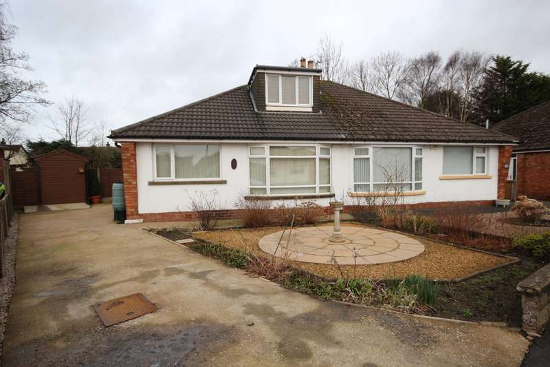 2 Bedrooms Semi Detached Bungalow for sale in Dorchester Road, Garstang, Preston, Lancashire, PR3