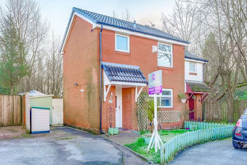 2 Bedrooms Semi Detached House for sale in Tinkersfield, Leigh, Greater Manchester. WN7 5LB