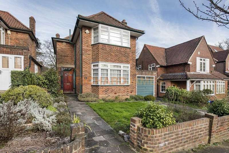 4 Bedrooms Detached House for sale in Sunnyfield, Mill Hill
