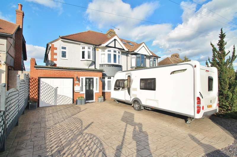 4 Bedrooms Semi Detached House for sale in Lower Higham Road , Gravesend, DA12 2NW