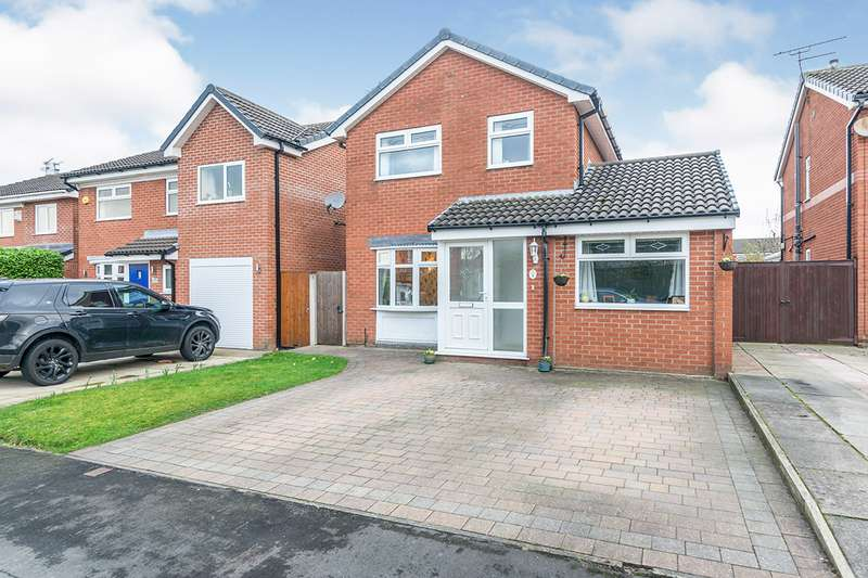 3 Bedrooms Detached House for sale in Tilbury Grove, Shevington, Wigan, Greater Manchester, WN6