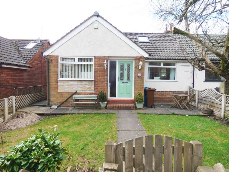 3 Bedrooms Semi Detached House for sale in Brookside Avenue, Oldham , Saddleworth, Grotton, Greater Manchester, OL4