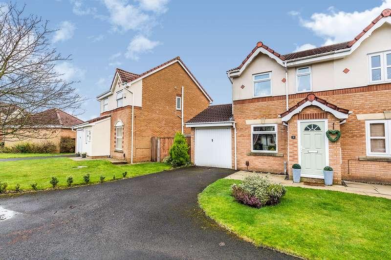 2 Bedrooms Semi Detached House for sale in Somersby Close, Walton-le-Dale, Preston, Lancashire, PR5