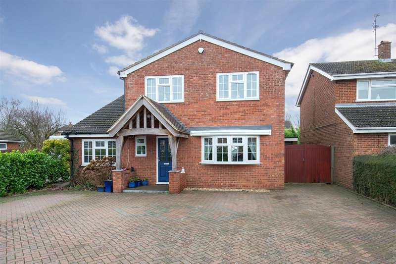 4 Bedrooms Detached House for sale in Byfield Close, Toddington