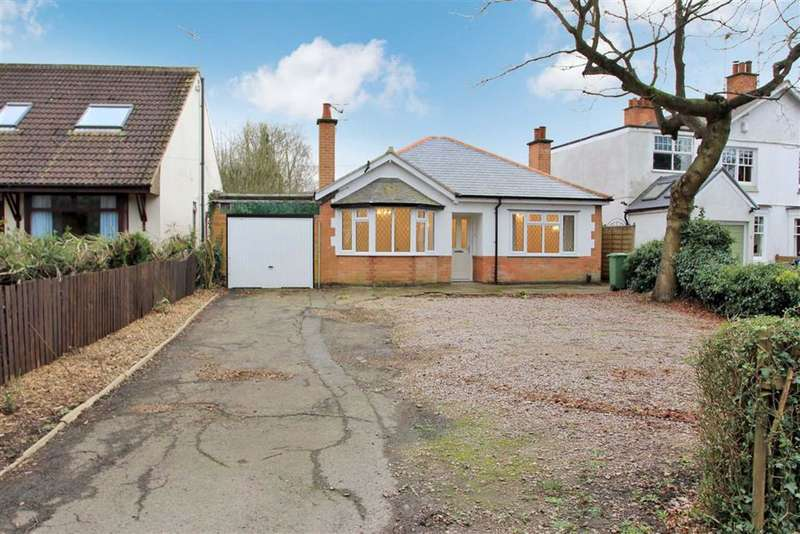 4 Bedrooms Detached Bungalow for sale in Kirby Lane, Kirby Muxloe, Leicestershire
