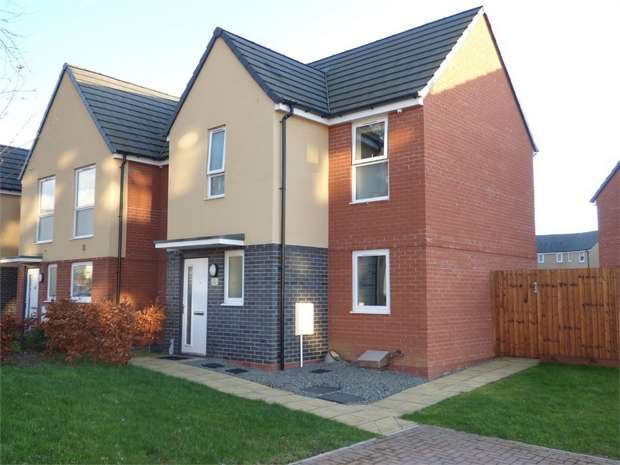 3 Bedrooms Semi Detached House for sale in Woodward Avenue, Hereford