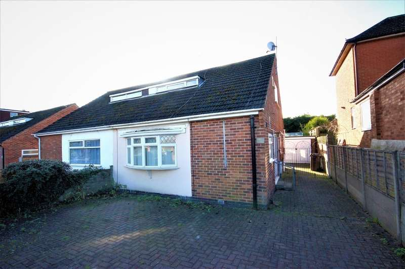 3 Bedrooms Bungalow for sale in Anson Road, Shepshed