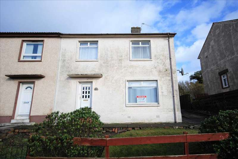 3 Bedrooms Semi Detached House for sale in Corrie Crescent, Saltcoats