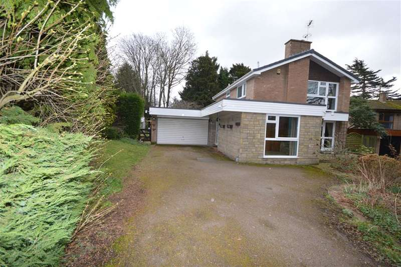 3 Bedrooms Detached House for sale in Rosina, Cedar Crescent, Narborough