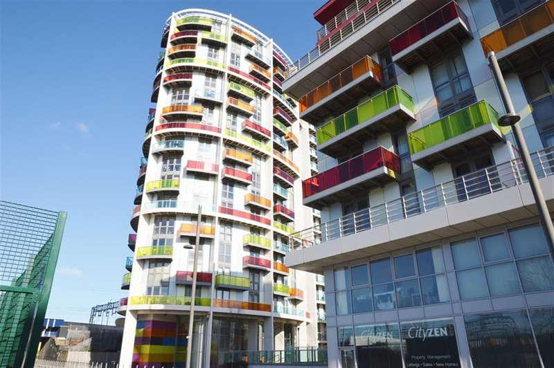 1 Bedroom Flat for sale in Warton Road, Stratford, London, E15 2JD
