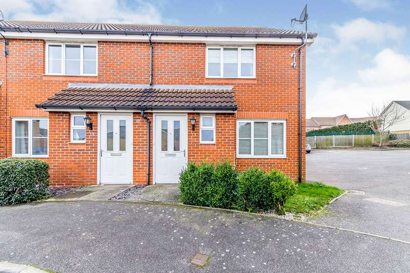 2 Bedrooms End Of Terrace House for sale in Belfry Drive, Hoo, Rochester, Kent, ME3