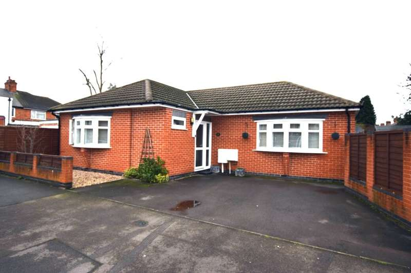 2 Bedrooms Detached Bungalow for sale in The Wayne Way, Birstall, Leicester, LE4