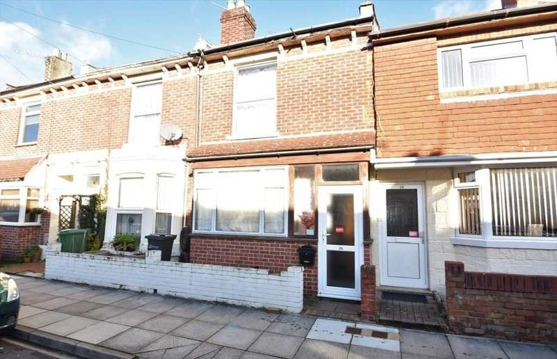 2 Bedrooms Property for sale in Eastfield Road, Southsea, Hampshire, PO4 9EN