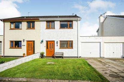 3 Bedrooms Semi Detached House for sale in Y Ddol, Lon Llan, Edern, Pwllheli, LL53