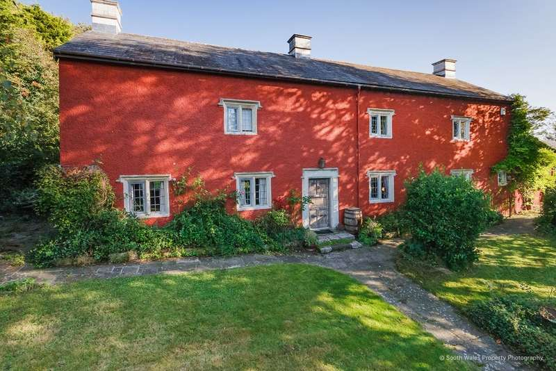 5 Bedrooms Detached House for sale in Walterston, Near Llancarfan, Vale of Glamorgan, CF62 3AS