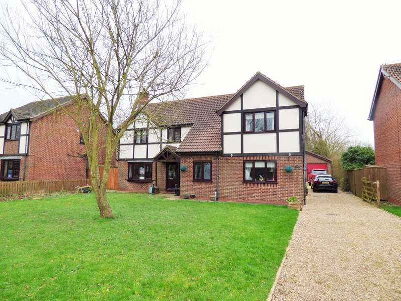 5 Bedrooms Detached House for sale in Osier Holt, Saltfleetby, Louth, LN11 7UD