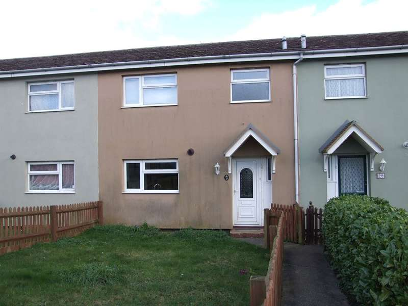 3 Bedrooms Terraced House for rent in Johnson Close, Braintree, Essex, CM7 1DA