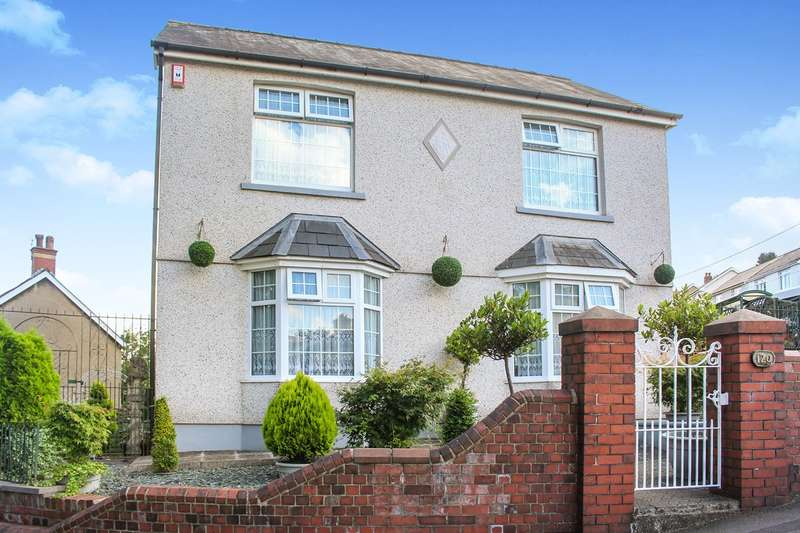 3 Bedrooms Detached House for sale in Sunnybank Road, Griffithstown, Pontypool, NP4