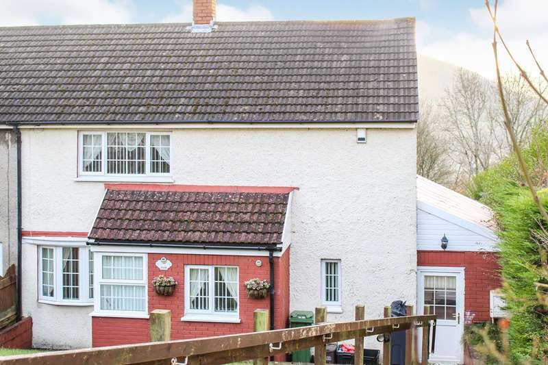 3 Bedrooms End Of Terrace House for sale in Upland Drive, Trevethin, Pontypool, NP4