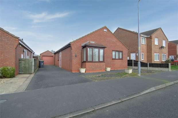 3 Bedrooms Detached Bungalow for sale in Park Lea, Ruskington, Sleaford, Lincolnshire