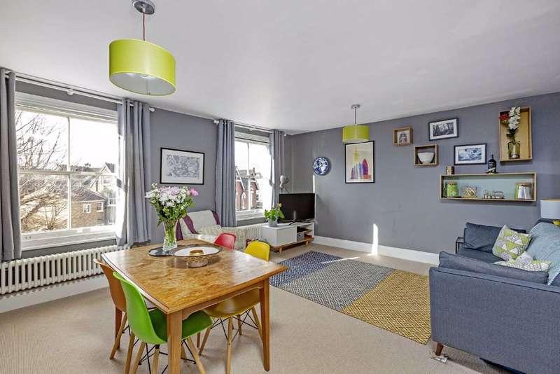 2 Bedrooms Flat for sale in Byrne Road, Balham