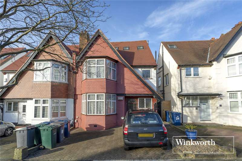 4 Bedrooms Semi Detached House for sale in Cyprus Avenue, Finchley, London, N3
