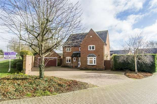 4 Bedrooms Detached House for sale in 'Weston House', Smeeton Road, Saddington