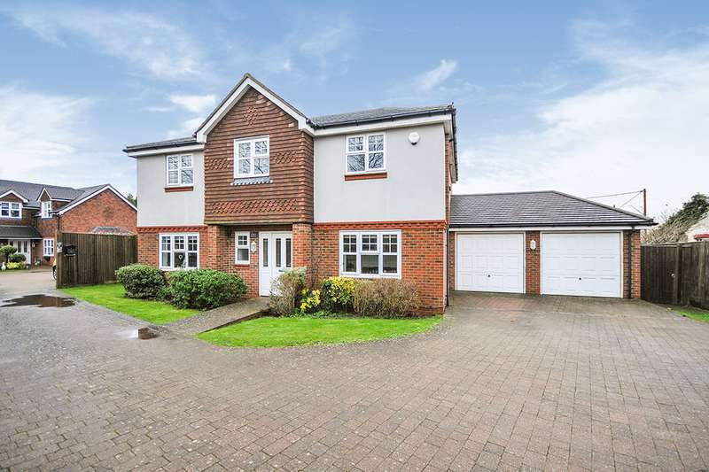 5 Bedrooms Detached House for sale in London Road, West Kingsdown, Sevenoaks, Kent, TN15
