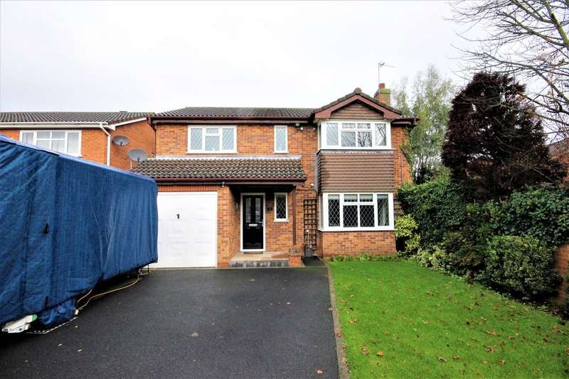 4 Bedrooms Detached House for sale in Well Yard Close, Shepshed