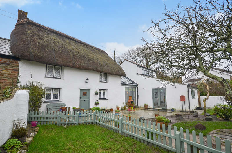 2 Bedrooms Semi Detached House for sale in Bolingey, , Truro,