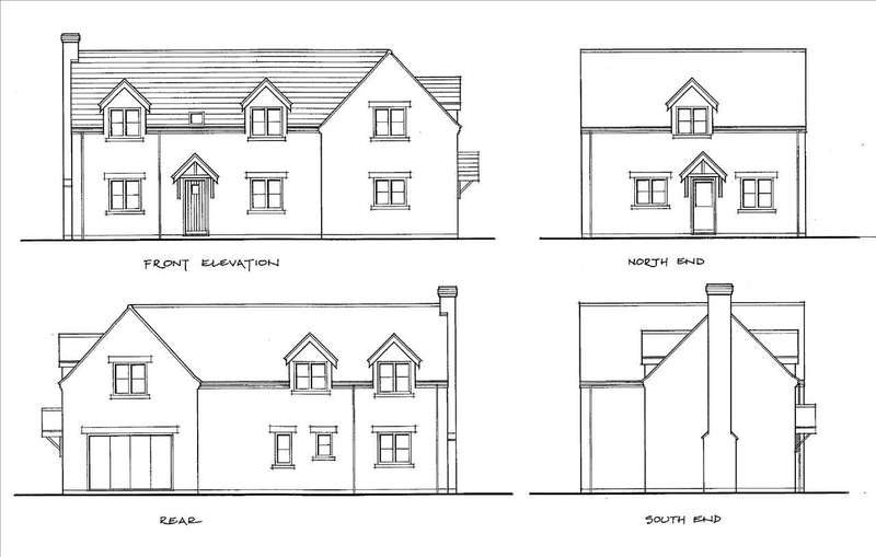 4 Bedrooms Plot Commercial for sale in Building Plot, 20 Low Road, Manthorpe, Grantham