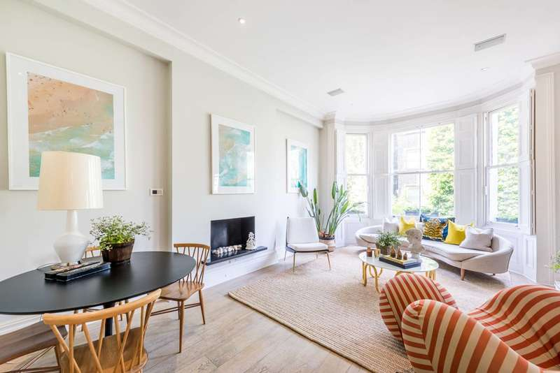 2 Bedrooms Maisonette Flat for sale in Marloes Road, Kensington, W8