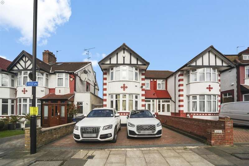 3 Bedrooms Semi Detached House for sale in Priory Gardens , Ealing, London, W5 1DY