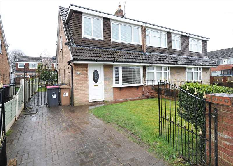 3 Bedrooms Semi Detached House for sale in 48 Broadway, Irlam M44 6DQ