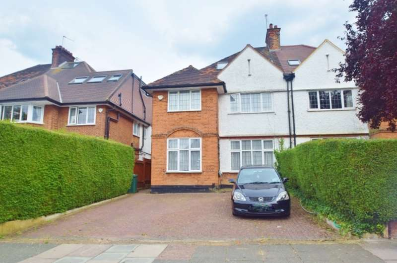 6 Bedrooms Semi Detached House for sale in WOODSTOCK ROAD, GOLDERS GREEN, LONDON, NW11