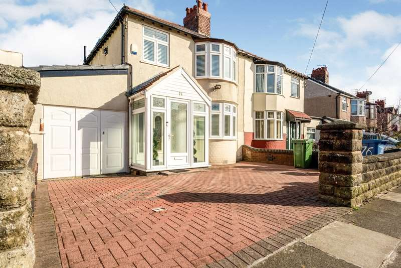 3 Bedrooms Semi Detached House for sale in Abbeystead Road, Liverpool, Merseyside, L15