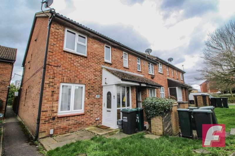 2 Bedrooms Maisonette Flat for sale in Redwood Close, South Oxhey