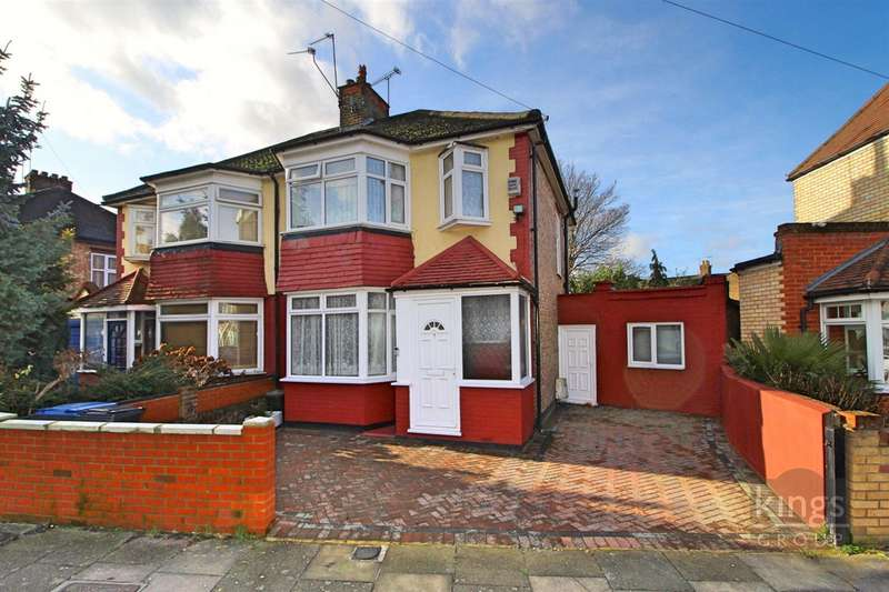 3 Bedrooms Semi Detached House for sale in Stanley Road, Edmonton, N9