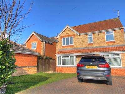 4 Bedrooms Detached House for sale in Willowbrook Close, Bedlington