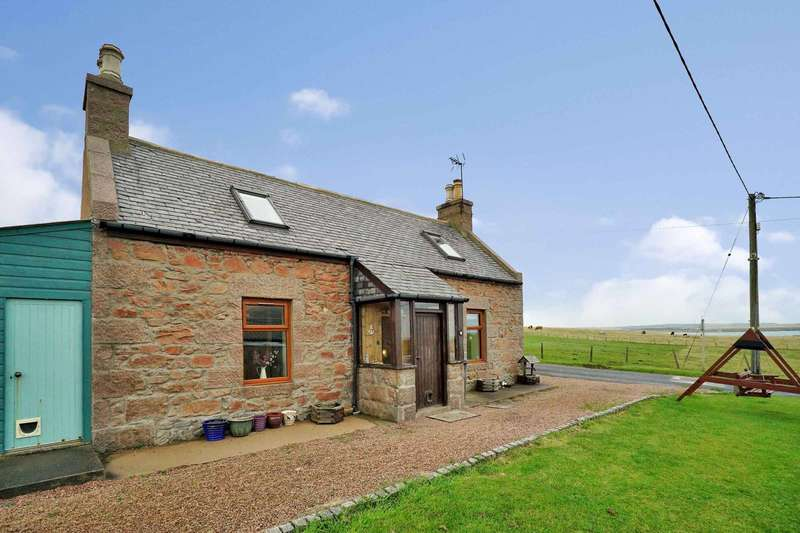 2 Bedrooms Cottage House for sale in Whinnyfold, Cruden Bay, Peterhead, Aberdeenshire, AB42 0QH