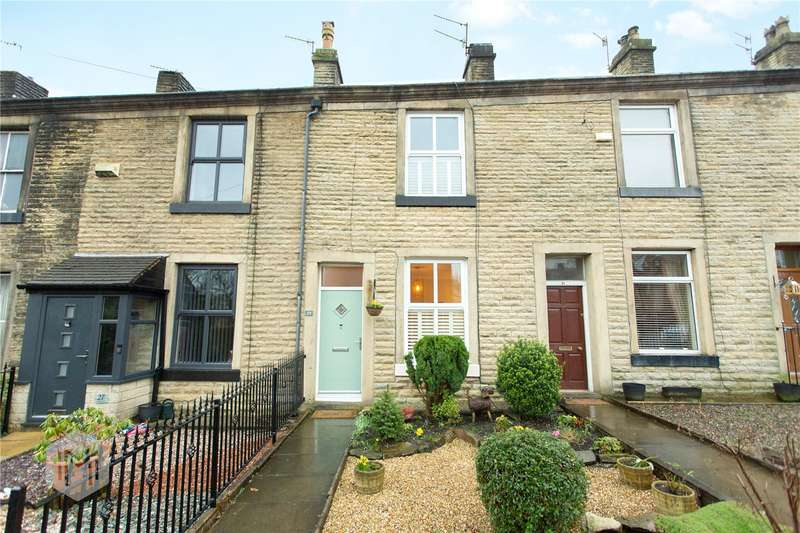 2 Bedrooms Terraced House for sale in Wellbank Street, Tottington, Bury, Greater Manchester, BL8