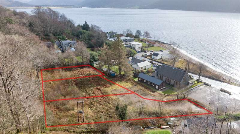 Land Commercial for sale in Plots 1-3, The Glebe, Onich, PH33