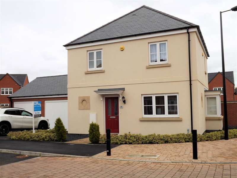 3 Bedrooms Detached House for sale in Houghton Way, Leicester