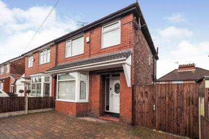 3 Bedrooms Semi Detached House for sale in Parkville Road, Prestwich, Manchester, Greater Manchester